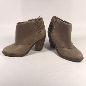 Jessica Simpson leather Caysy Boots never worn out